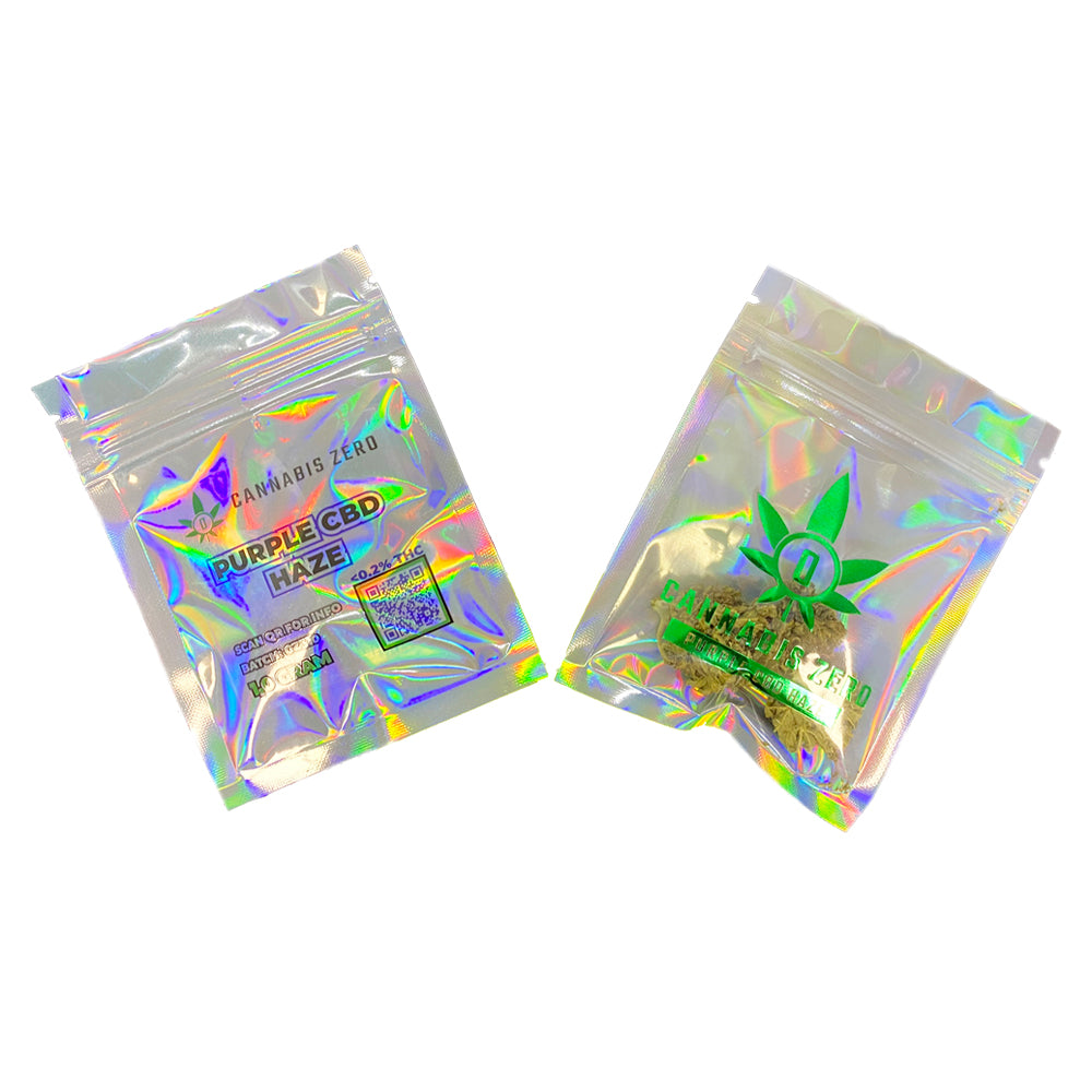 Purple CBD Haze 1 Gram Bag