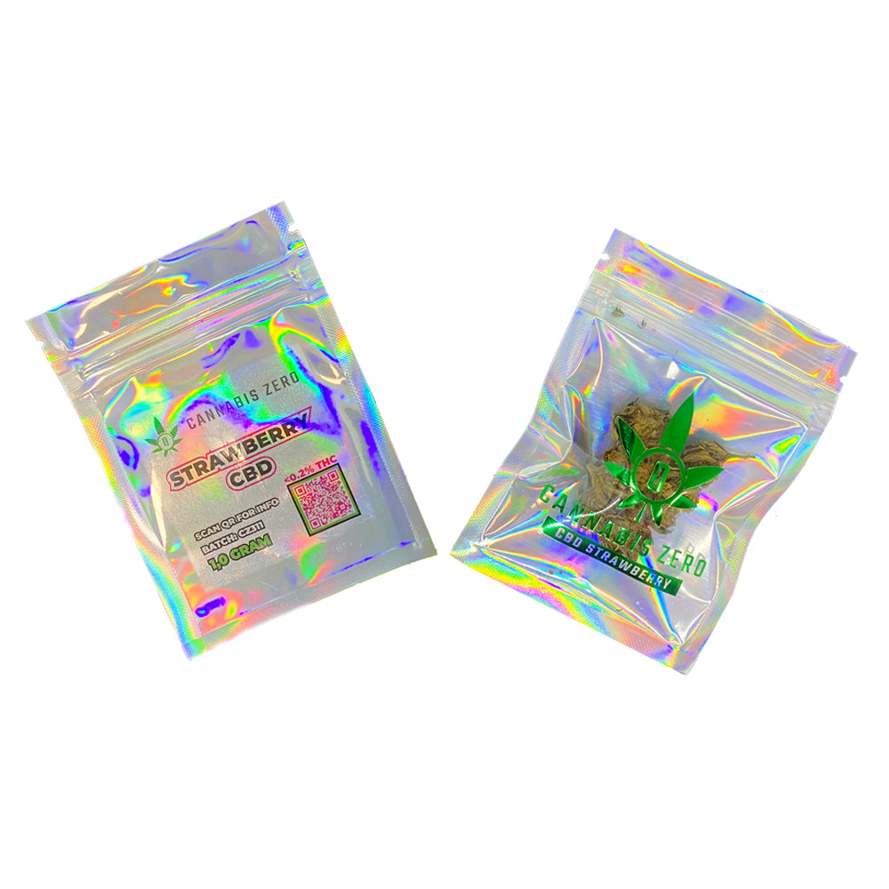 Strawberry CBD 1 Gram Bag