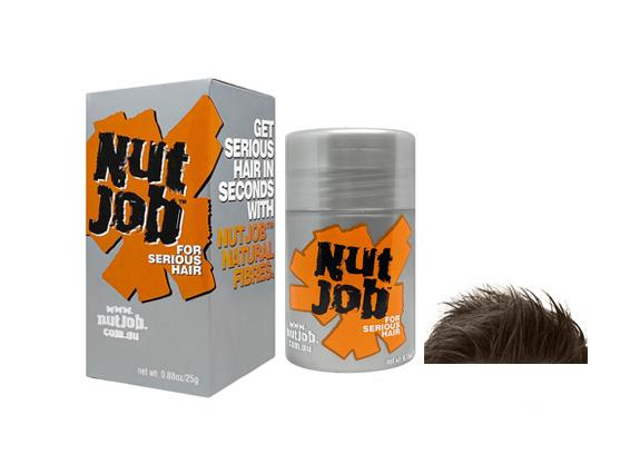 Nut Job Hair Building Fibres for men with hair loss