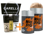 Nut Job Blond Hair Fibres and Carelli Travel Pack Combo