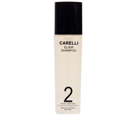 Carelli Shampoo for Hair Loss. Stimulates hair follicles to promote healthy hair growth.