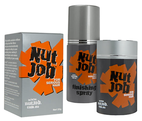 Nut Job Hair Fixing Spray