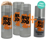 Nut Job Blond Hair Fibres and BONUS Fixing Spray Combo Pack - SAVE with a Bulk Buy!