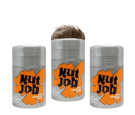 Nut Job Travel Size Three Pack - Light Brown Bulk Buy