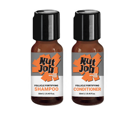 Nut Job Follicle Fortifying Shampoo 50g Travel Size