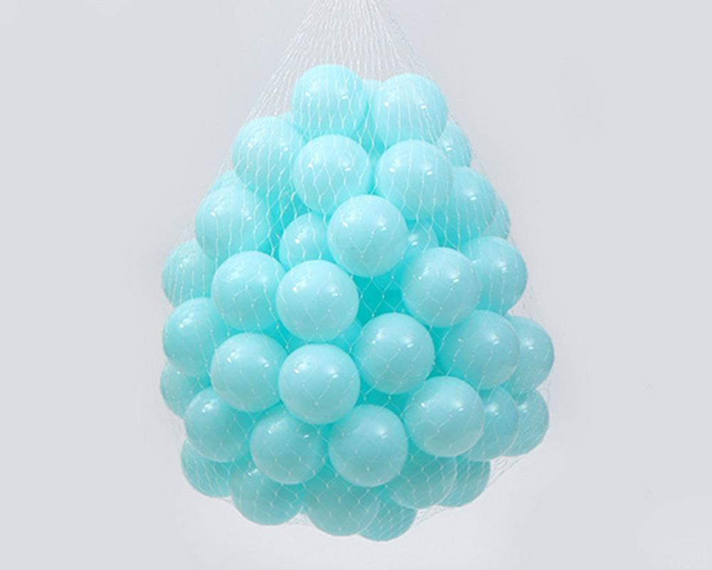 FarrGo 150pcs Baby Eco-Friendly Colorful Soft Funny Plastic Ocean Balls Toys
