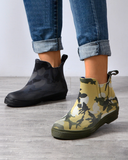 Yearnshoes Non-slip  camouflage waterproof   Low barrel  Breathable Boots