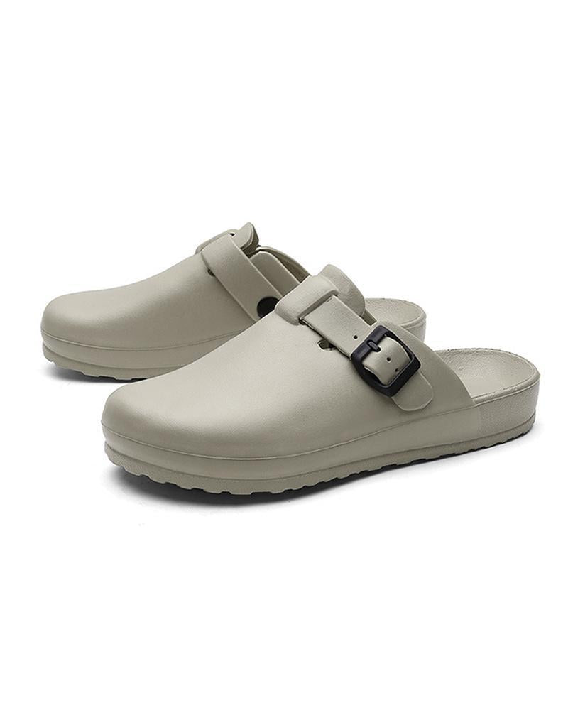 Yearnshoes Classic Clog Comfortable Slip on Casual Shoes