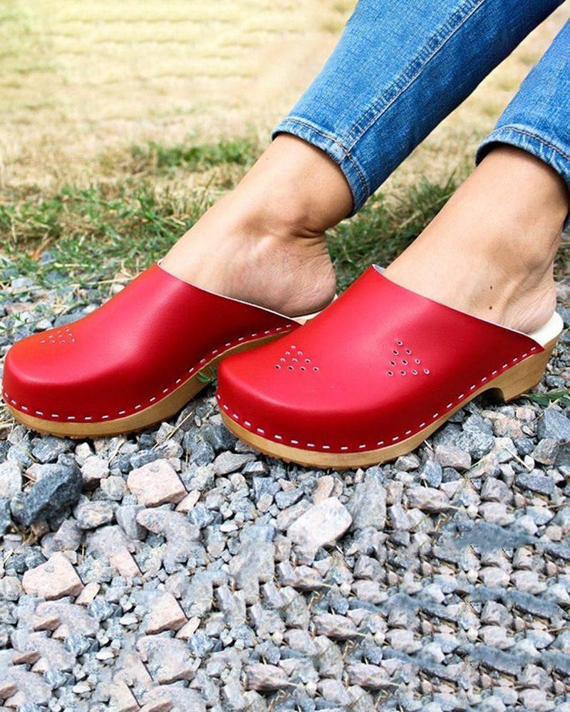 Yearnshoes Swedish Clogs Moccasins Clogs Women Clogs Sandals