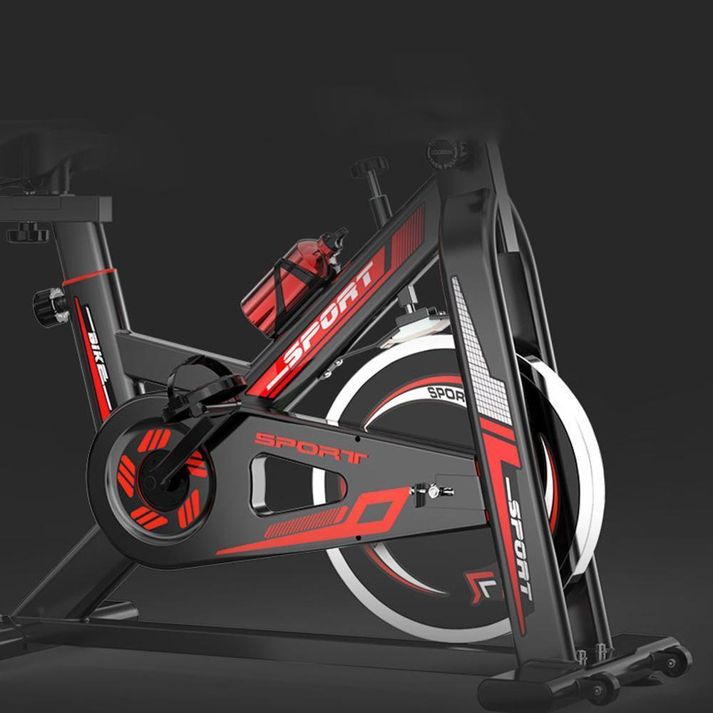 FarrGo Indoor Cycling Bicycle Belt Drive Stationary Bikes Cardio Workout Machine