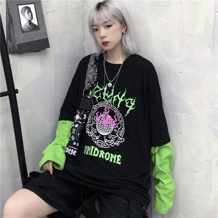 'Unidrone' Long Sleeve Shirt - eboyngirl