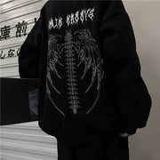 Skeleton Wings Sweatshirt