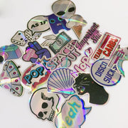 20Pcs Cool Laser Stickers - eboyngirl