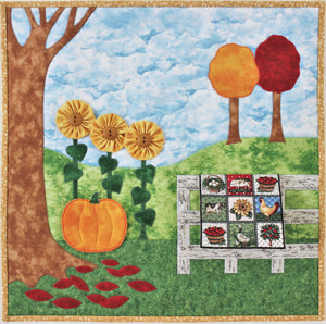 Seasons of Quilting quilt pattern set
