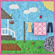 Load image into Gallery viewer, Splendid Spring applique wall quilt pattern