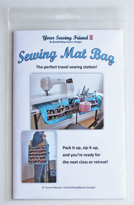 Sewing Mat Bag pattern for sewing machine mat/tote bag