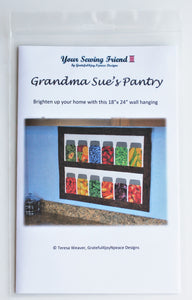 Grandma Sue's Pantry canning jars quilt - pattern only