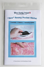 Load image into Gallery viewer, Sew Roomy Pocket Wallet pattern