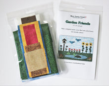 Load image into Gallery viewer, Garden Friends quilt kit
