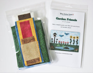 Garden Friends quilt kit