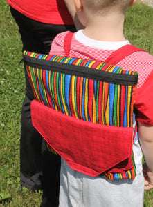 Coloring Book Backpack pattern