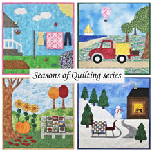 Load image into Gallery viewer, Seasons of Quilting quilt pattern set