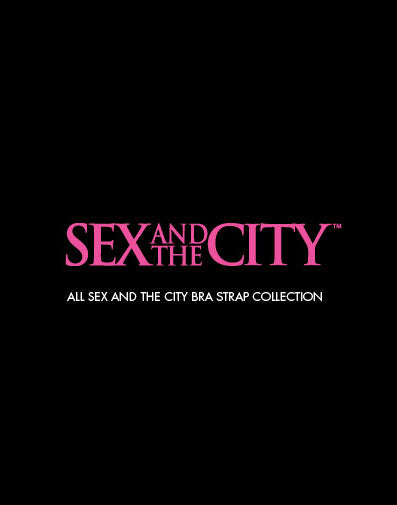 Sex and the City Bra Strap Collection.