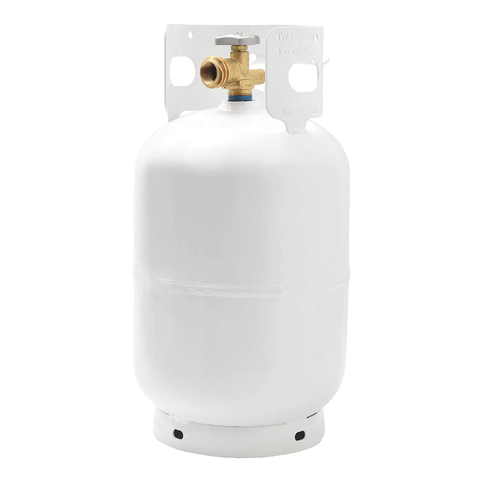 Flame King 10 lb Steel Propane Tank Cylinder