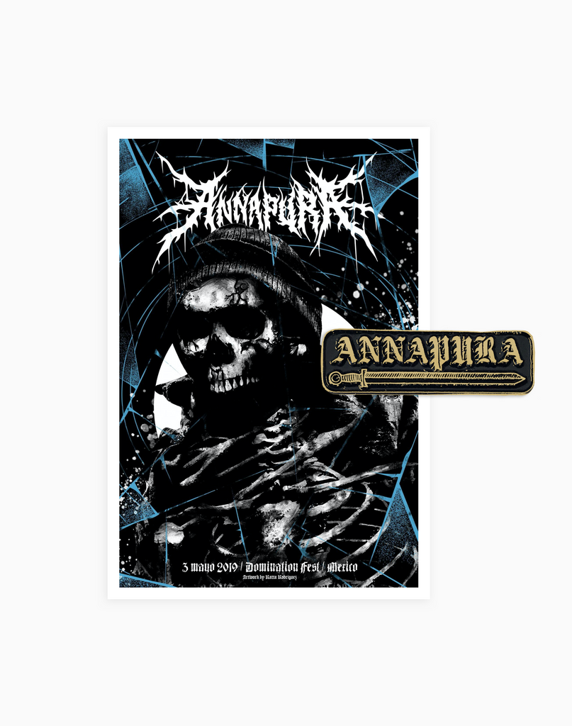 Pin Annapura + Poster Domination Fest 2019