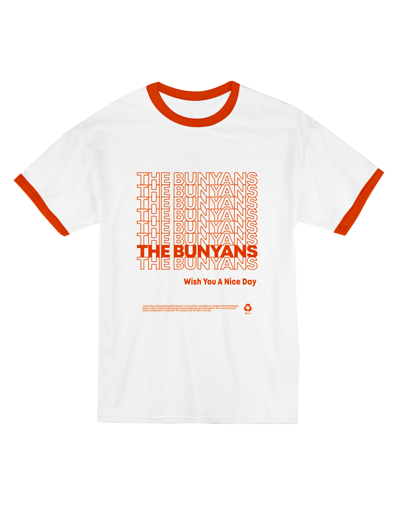 "The Bunyans ""THANK YOU"" Ringer Tee"