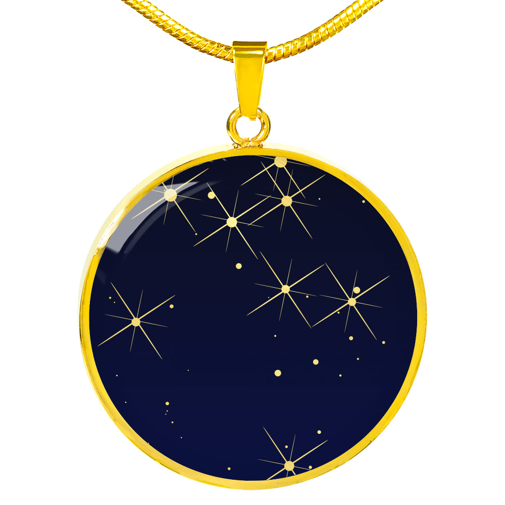 Our Lucky Stars Custom Star Map Necklace