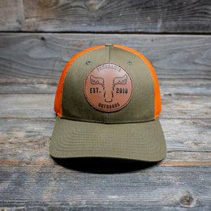Green/Orange Hat