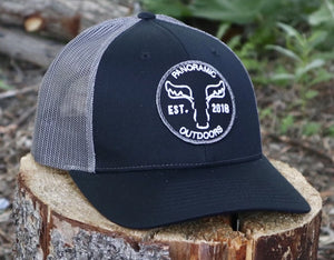 Black/Grey Hat