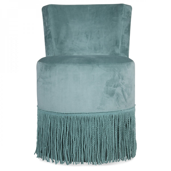 Velvet Fringe Chair
