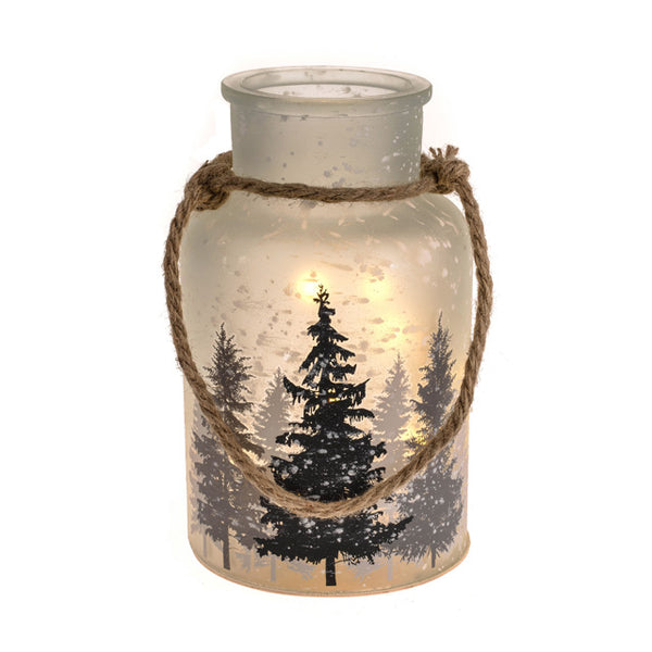 LED Winter Jar Light