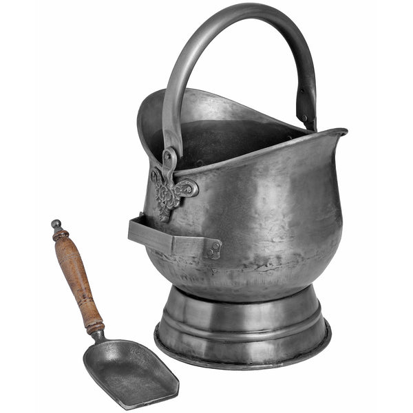 Pewter Coal Bucket