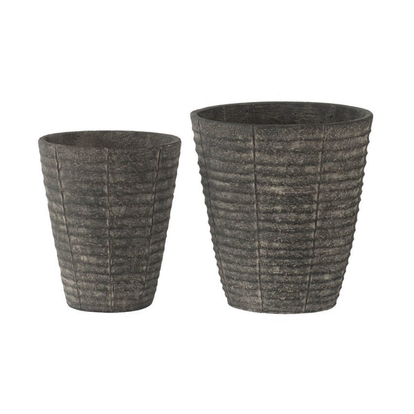 Pair of Rustic Planters