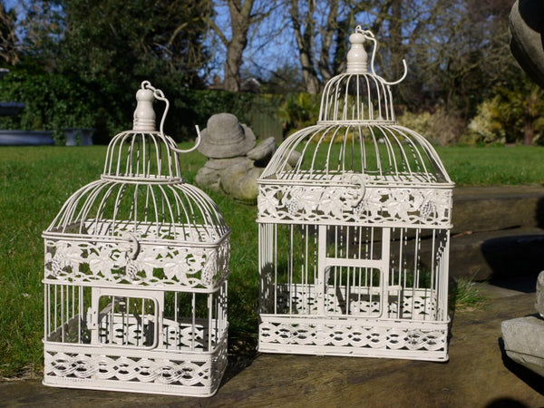 Bird Cage Hanging Baskets