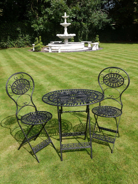Garden furniture French metal garden furniture