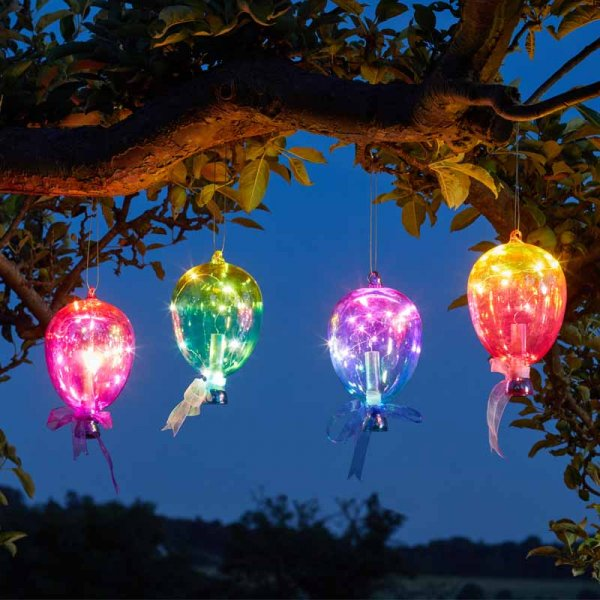 Set of 4 Firefly Balloons