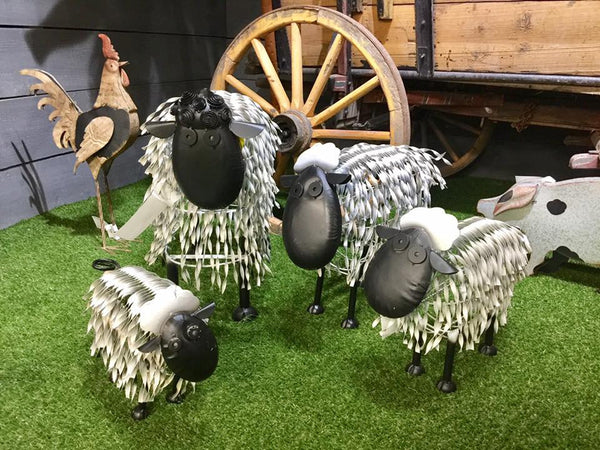 Metal Garden Sheep
