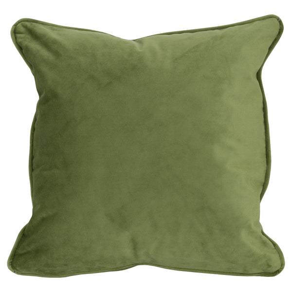 Light Green Velvet Cushion