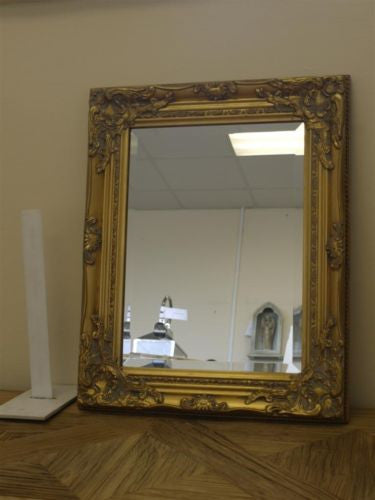Ornate Wall Mirror (3 Colours) Gold,  - Olive and Sage, Olive and Sage  - 4
