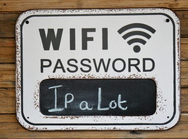 Wifi Wall Sign