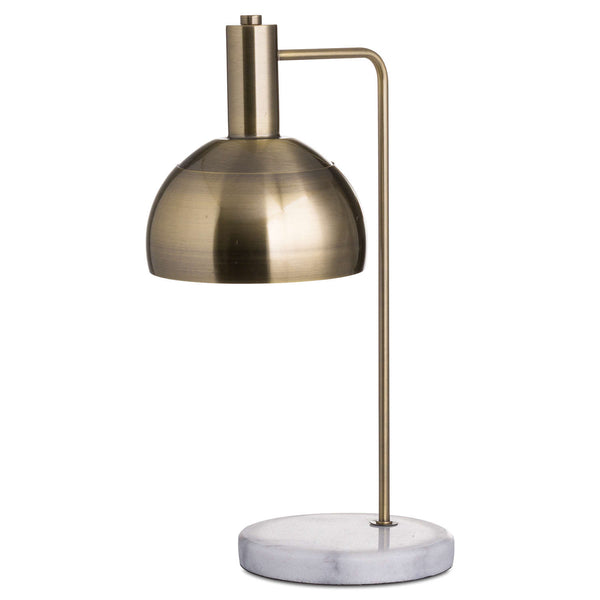 Marble & Brass Lamp