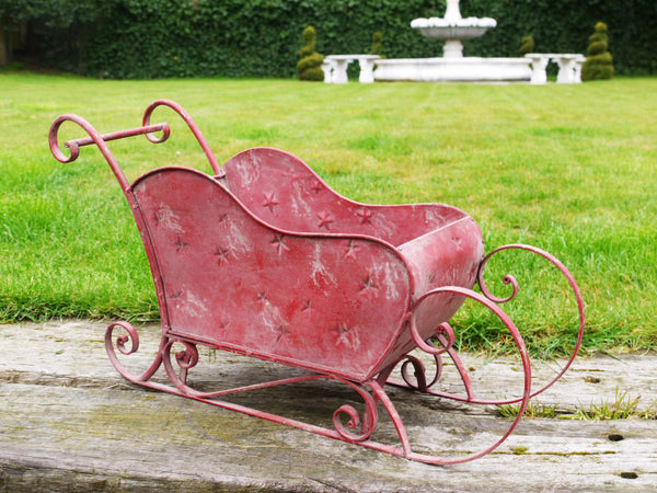Santa's Red Sleigh ,  - Olive and Sage, Olive and Sage