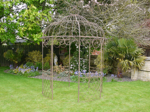 Wrought Iron Gazebo Rustic,  - Olive and Sage, Olive and Sage  - 1