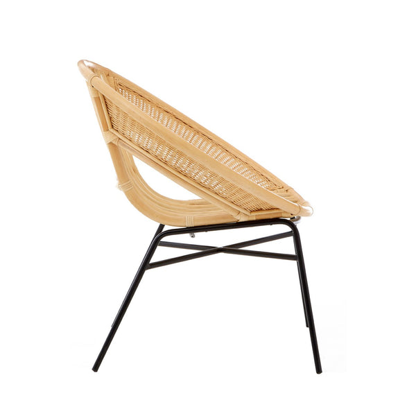 Natural Rattan Tub Chair