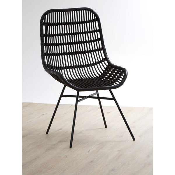Black Occasional Chair