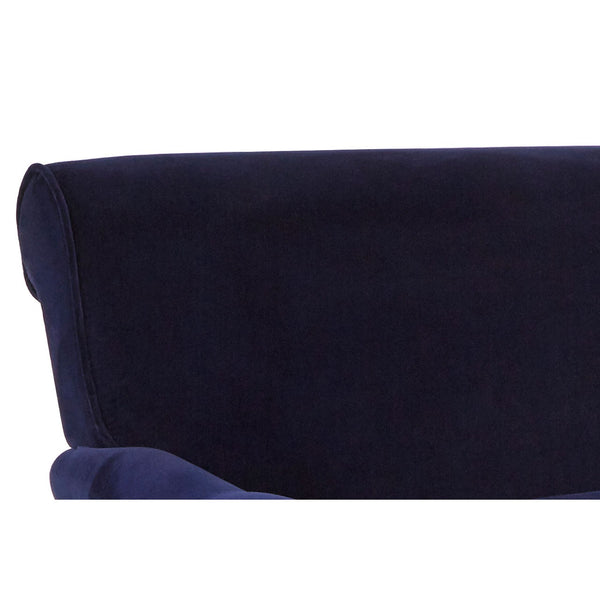 Midnight Velvet Loveseat
